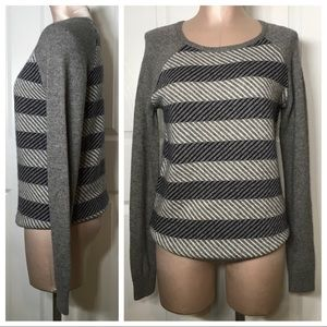 J. Crew Wool Blend Preppy Sweater Pullover Top S